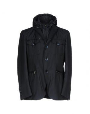 Куртка CALVARESI. Цвет: темно-синий