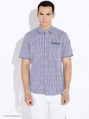 Рубашка LERROS. Цвет: фиолетовый