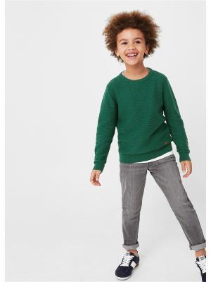 Джемпер - LEO Mango kids. Цвет: зеленый