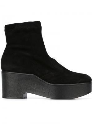 Ботинки по щиколотку на платформе Robert Clergerie. Цвет: чёрный
