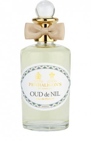 Парфюмерная вода Oud de Nil Penhaligons Penhaligon's. Цвет: бесцветный