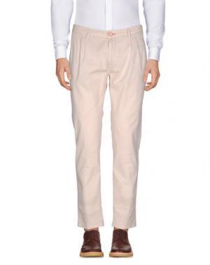 Повседневные брюки YAN SIMMON. Цвет: бежевый