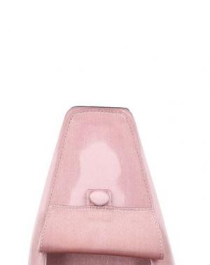 Мокасины ROGER VIVIER. Цвет: розовый