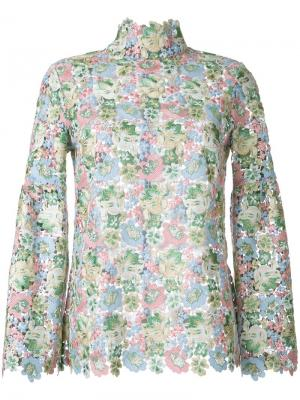 Блузка Bell Macgraw. Цвет: многоцветный