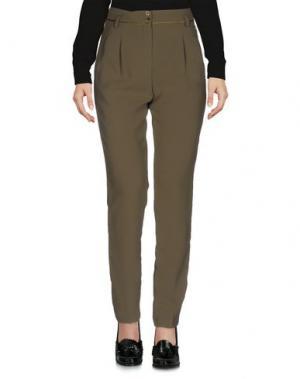 Повседневные брюки AXARA PARIS. Цвет: зеленый-милитари