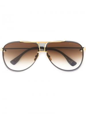 Солнцезащитные очки Decade Two Dita Eyewear. Цвет: чёрный