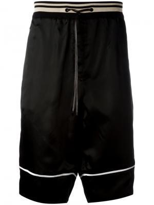 Спортивные шорты 3.1 Phillip Lim. Цвет: чёрный