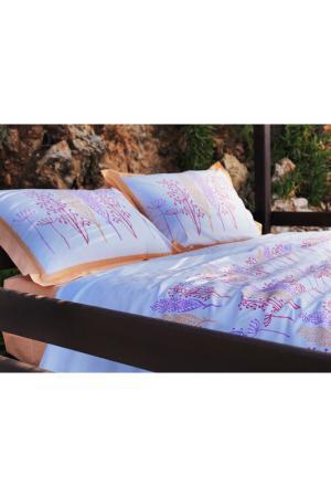 Комплект постельного белья Marie claire. Цвет: blue and pink