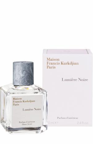 Аромат для дома Lumiere Noire Maison Francis Kurkdjian. Цвет: бесцветный