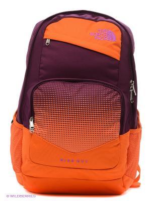 Рюкзак The North Face. Цвет: фиолетовый