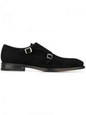 Классические туфли-монки Henderson Baracco. Цвет: чёрный