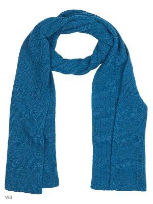 Шарф United Colors of Benetton. Цвет: голубой