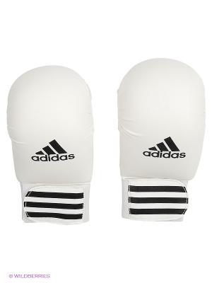 Накладки для карате Smaller Adidas. Цвет: белый