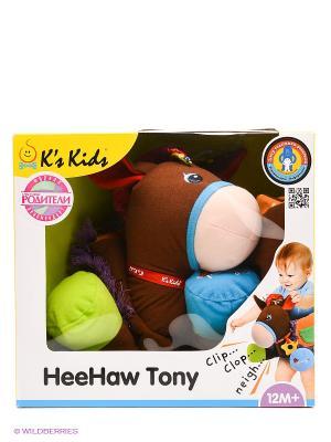 Развивающая игрушка Ковбой K'S Kids. Цвет: коричневый