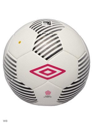 Мяч Футбольный Umbro. Цвет: белый, черный, розовый