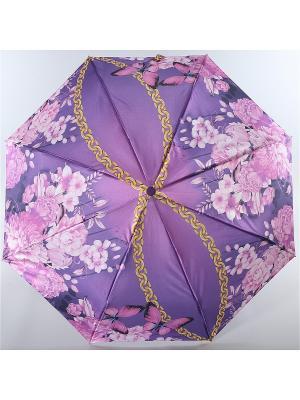 Зонт Magic Rain. Цвет: сиреневый, белый, фуксия
