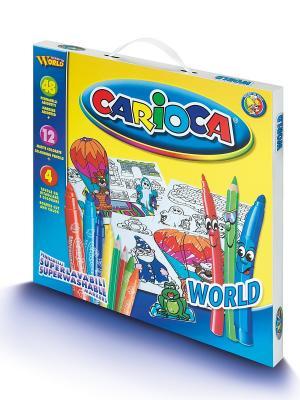 Набор для рисования CARIOCA WORLD Universal. Цвет: синий