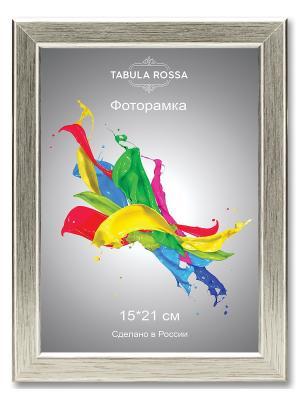 Фоторамка 15х21 №450 Tabula Rossa. Цвет: серебристый