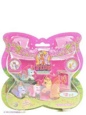 Набор с бабочками Филли Волшебная семья Rhett немецкая версия Dracco. Цвет: розовый