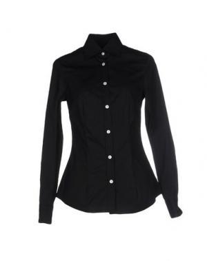 Pубашка BARBA NAPOLI. Цвет: черный