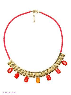 Ожерелье ГАНГ. Цвет: красный
