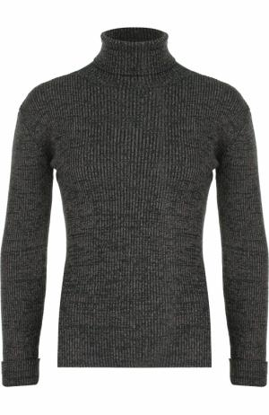 Облегающий свитер с высоким воротником Paul&Joe. Цвет: хаки