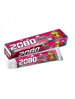 Набор Зубная паста Dental Clinic 2080 Kids, Детская клубника 80 гр. 2 штуки. Цвет: розовый