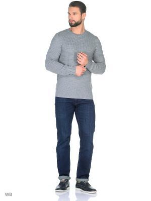 Джемпер JB casual. Цвет: серый