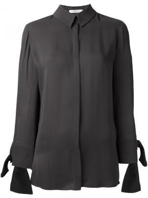 Классическая рубашка Dorothee Schumacher. Цвет: серый