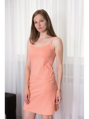 Ночная сорочка Violett. Цвет: персиковый