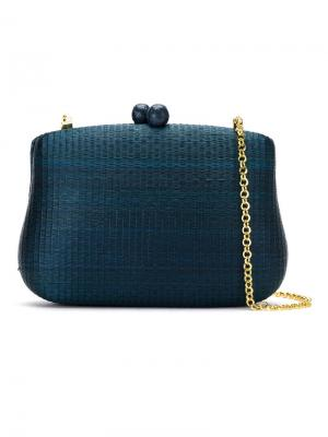 Clutch bag Serpui. Цвет: синий
