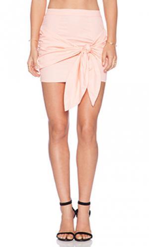 Юбка luxury May.. Цвет: персиковый