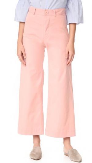 Широкие брюки Ryan с высокой талией Emerson Thorpe. Цвет: розовый
