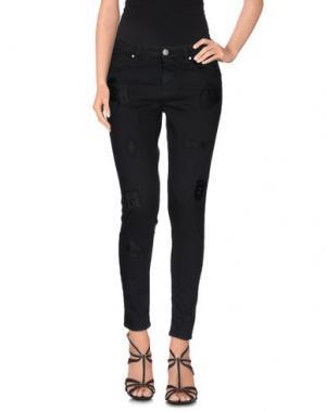 Джинсовые брюки GAëLLE. Цвет: черный
