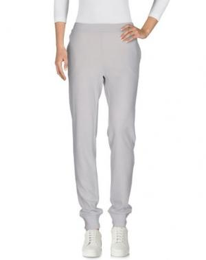 Повседневные брюки BLU BIANCO. Цвет: светло-серый
