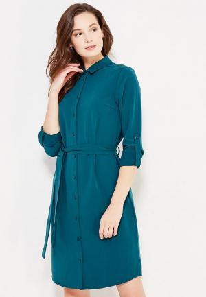 Платье Modis. Цвет: зеленый