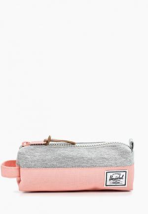 Пенал Herschel Supply Co. Цвет: розовый