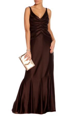 Платье JS Collections. Цвет: коричневый
