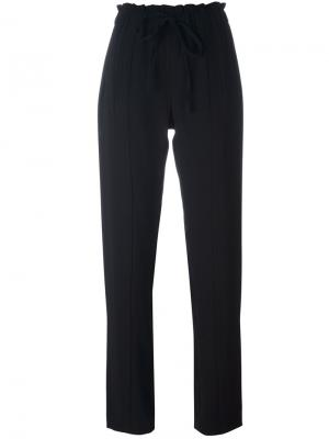 Прямые брюки на завязках Steffen Schraut. Цвет: чёрный