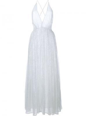 Платье Monica Mes Demoiselles. Цвет: металлический