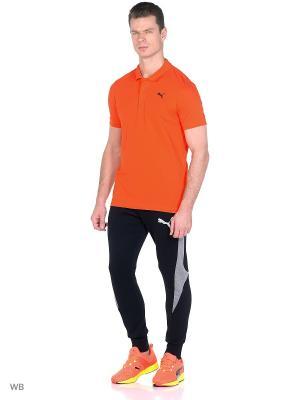 Футболка-поло ESS Pique Polo Puma. Цвет: оранжевый