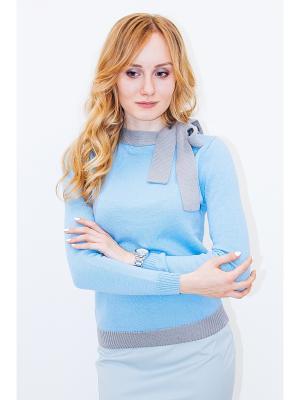 Джемпер Cadeau Wooly's. Цвет: голубой