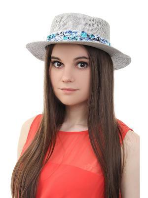 Шляпа Olere. Цвет: серый