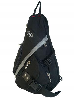 Рюкзак однолямочный Yeso (Outmaster). Цвет: черный