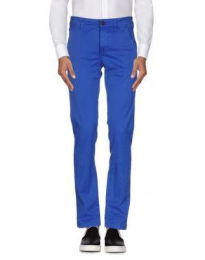 Повседневные брюки CAMOUFLAGE AR AND J.. Цвет: ярко-синий