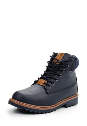 Ботинки Acoola. Цвет: синий