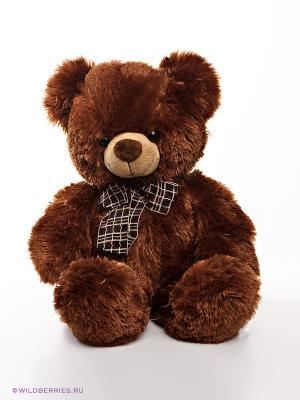 Мягкая игрушка Медвежонок AURORA. Цвет: темно-коричневый