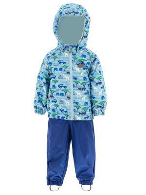 Комплект одежды REIKE. Цвет: синий