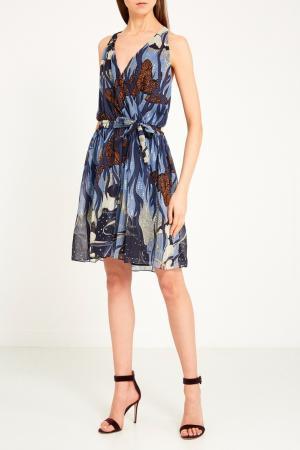 Платье с принтом Gucci. Цвет: multicolor