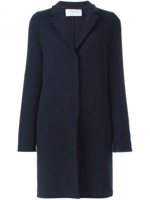 Пальто Cocoon Harris Wharf London. Цвет: синий